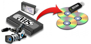 Transfer VHS and Camera Tapes to DVD or File